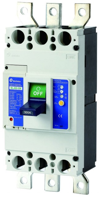 Earth Leakage Circuit Breaker - Shihlin Electric Earth Leakage Circuit Breaker BL400-SN