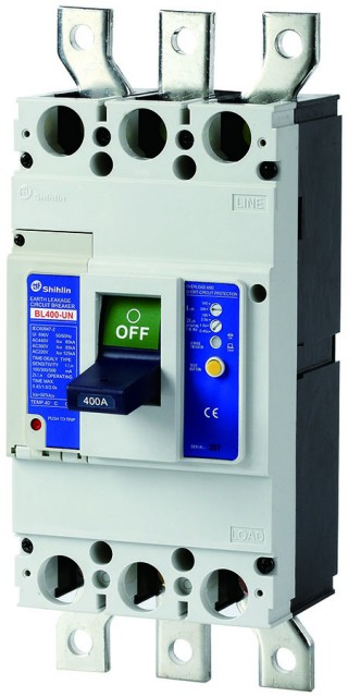 Pemutus Sirkuit Kebocoran Bumi - Shihlin Electric Earth Leakage Circuit Breaker BL400-UN