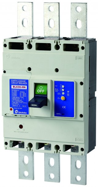 Earth Leakage Circuit Breaker - Shihlin Electric Earth Leakage Circuit Breaker BL630-HN