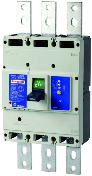 Earth Leakage Circuit Breaker - Shihlin Electric Earth Leakage Circuit Breaker BL630-RN