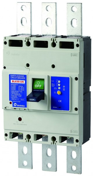 Earth Leakage Circuit Breaker - Shihlin Electric Earth Leakage Circuit Breaker BL630-UN