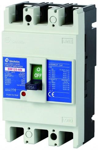 Disjuntor em caixa moldada - Shihlin Electric Disjuntor em caixa moldada BM125-HN