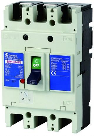 Disjuntor em caixa moldada - Shihlin Electric Disjuntor em caixa moldada BM160-HN