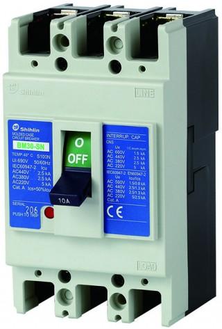 Disjuntor em caixa moldada - Shihlin Electric Disjuntor em caixa moldada BM30-SN