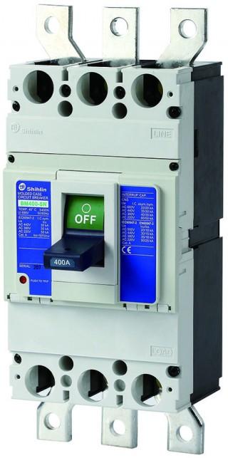 Disjuntor em caixa moldada - Shihlin Electric Disjuntor em caixa moldada BM400-SN