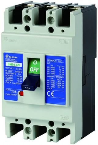 Disjuntor em caixa moldada - Shihlin Electric Disjuntor em caixa moldada BM60-SN