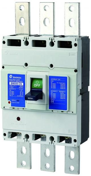 Disjuntor em caixa moldada - Shihlin Electric Disjuntor em caixa moldada BM800-CN