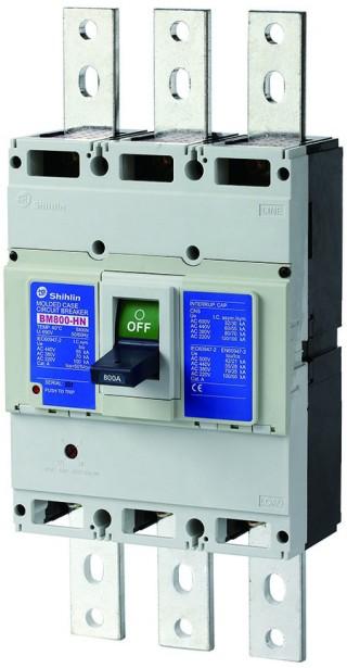 Disjuntor em caixa moldada - Disjuntor em caixa moldada Shihlin Electric BM800-HN