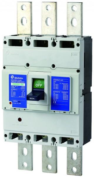 Disjuntor em caixa moldada - Shihlin Electric Disjuntor em caixa moldada BM800-SN