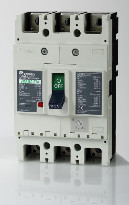 Alat Pemutus Sirkuit Berbentuk - Shihlin Electric Alat Pemutus Sirkuit Berbentuk BMA160