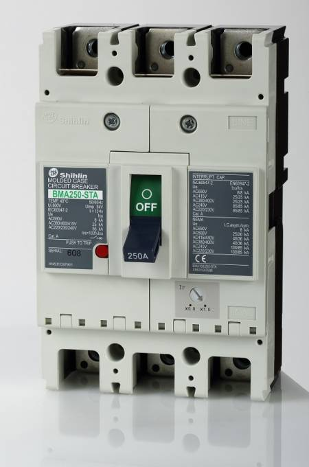 Molded Case Circuit Breaker - Shihlin Electric Molded Case Circuit Breaker BMA250