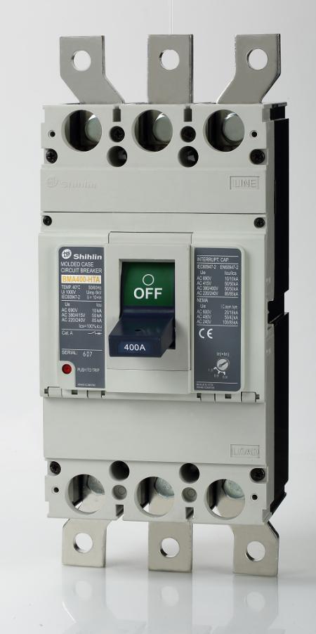 Disjuntor em caixa moldada - Shihlin Electric Disjuntor em caixa moldada BMA400