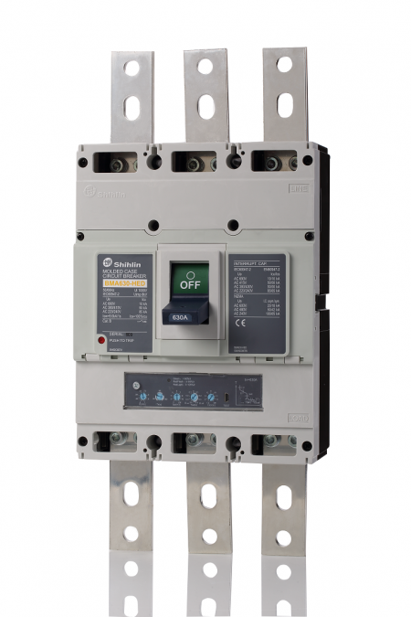Molded Case Circuit Breaker - Electronic trip unit - Shihlin Electric Molded Case Circuit Breaker BMA630