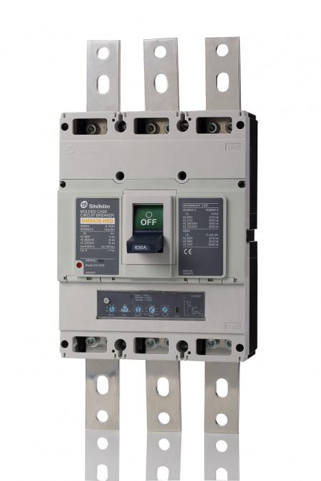 Disjuntor em caixa moldada - unidade de disparo eletrônico - Shihlin Electric Disjuntor em caixa moldada BMA630
