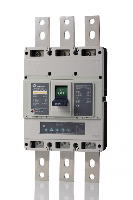Molded Case Circuit Breaker - Electronic trip unit - Shihlin Electric Molded Case Circuit Breaker BMA800