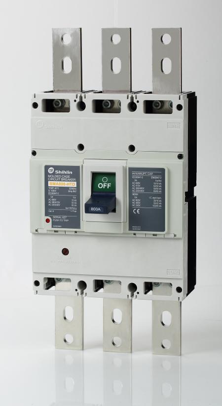 Disjuntor em caixa moldada - Shihlin Electric Disjuntor em caixa moldada BMA800