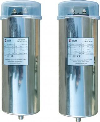 Cylindrical Self-Healing Shunt Capacitor