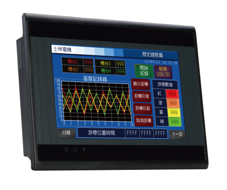 EC200H सीरीज़ - Shihlin Electric HMI EC200H
