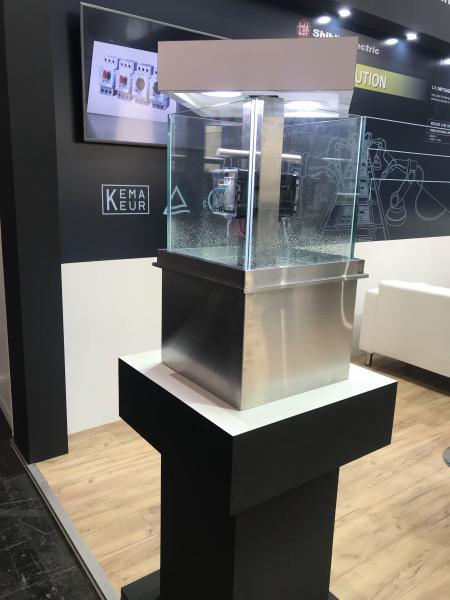 Shihlin Electric Devre kesici ekranlı IP68 su geçirmez denizaltı tipi muhafaza
