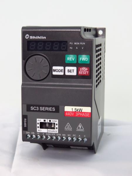 SC3 - 0,2KW ~ 5,5KW - Shihlin Electric Drives AC SS2