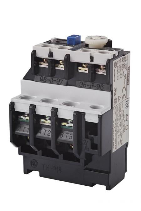 Relé de sobrecarga térmica - Shihlin Electric Relé de sobrecarga térmica TH-P18