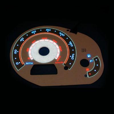 Digital multimedia -talerstol använder El -panel - EL -panel med främre överlägg.