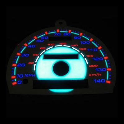 Automobile logo El Panel backlight - Bendable EL Panel