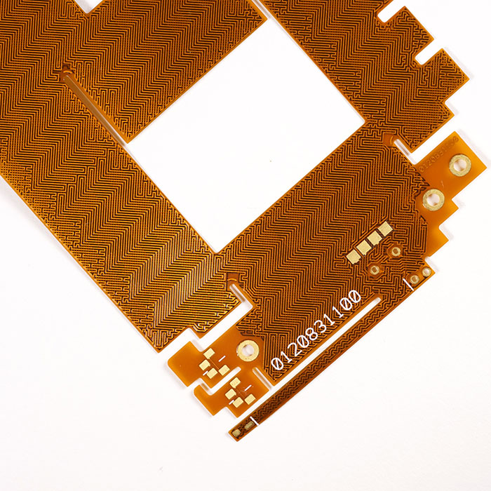 ESD que protege o circuito impresso flexível - FPC de dupla face com camada de blindagem ESD.