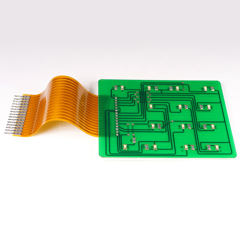 印刷電路板結合軟性線路。