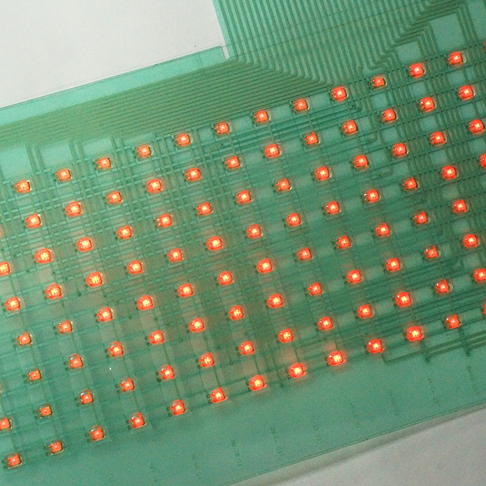 insulation circuit assembled with LED - Isolation ink circuit