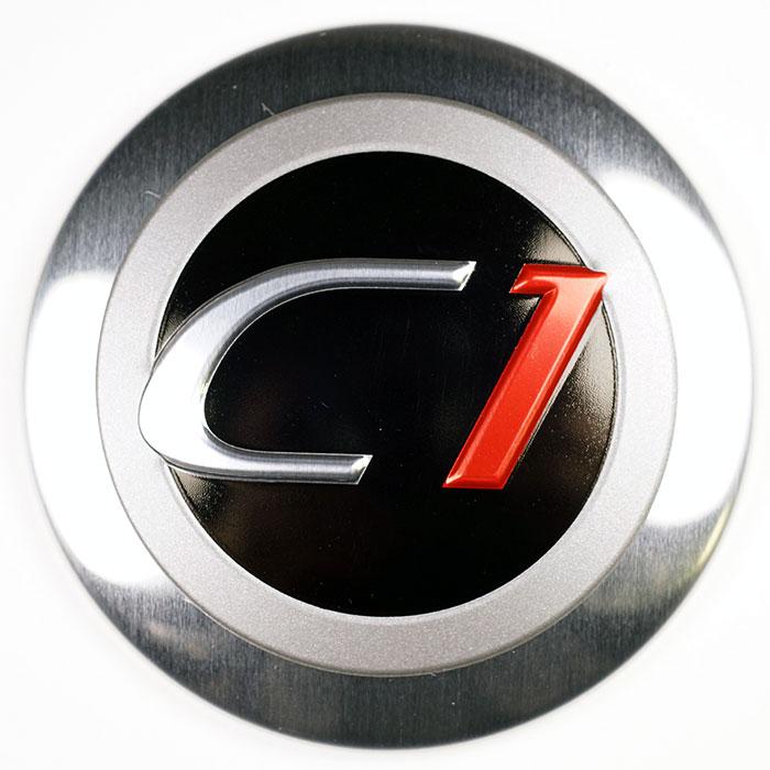 Placas de Alumínio Anodizado - Placa de identificação de metal com logotipo impresso no topo.