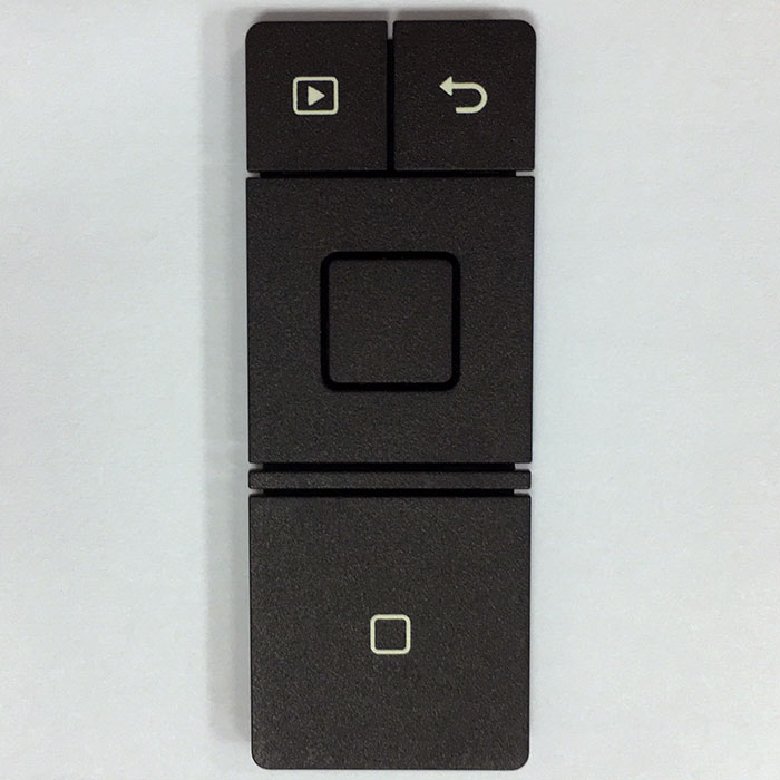 Plastic Rubber keypad - Plastic + Silicone Rubber Keypad