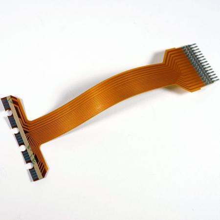 Circuito Impresso Flexível Soldável - FPC pode ser soldado diretamente.