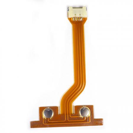 FPC mit Molex-Anschluss - FPC kombiniert mit Metallkuppel.