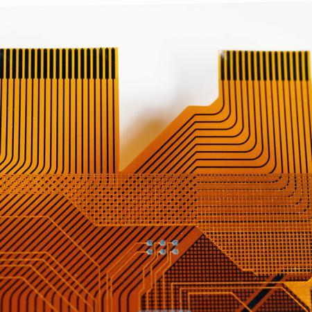 Circuito Impresso Flexível Multicamadas - 4 camadas de FPC.