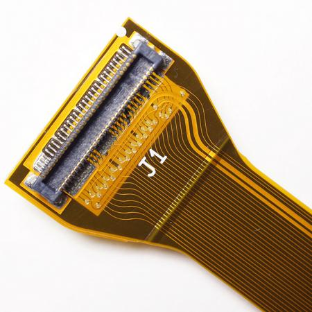 SMT Flexible Printed Circuit - Double sided FPC, gold flash