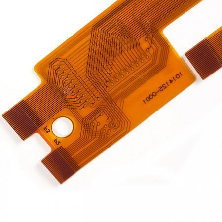 Flexible leiterplatten mit Versteifung - Plating-Glod-Schaltung