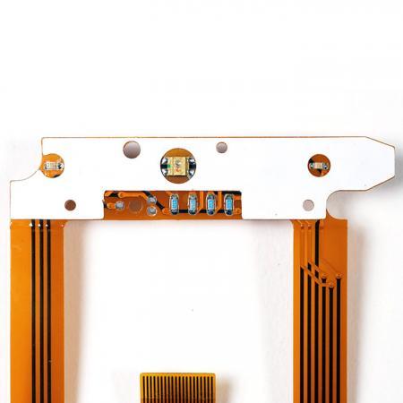 FPC-montierte Komponenten - LED und Komponenten montiert