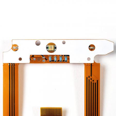 Componentes montados em FPC - LED e componentes montados