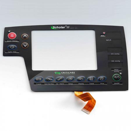 Membrane Switch with Flexible Printed Circuit - Membrane Switch with Double Sided FPC