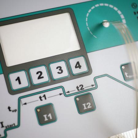 Interruptor de membrana IP68 à prova d'água - Interruptor de membrana de uso da indústria, botão de gravação para melhorar tátil