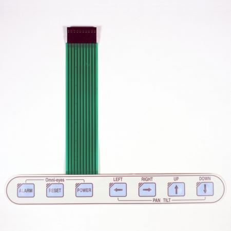 工業設備防水型薄膜按鍵 - 可以在潮濕的環境中操作的薄膜按鍵。