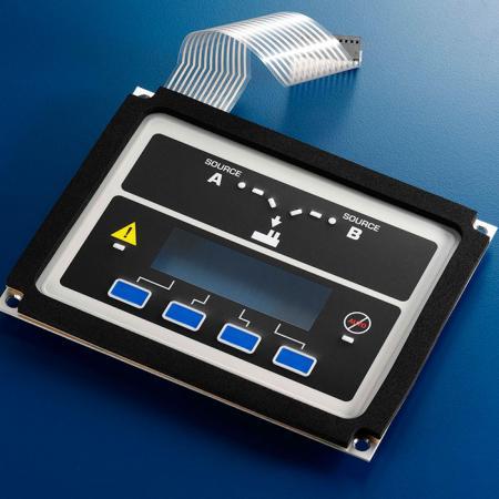 工業用薄膜按鍵結合鋁板 - 適合用於各式工業設備