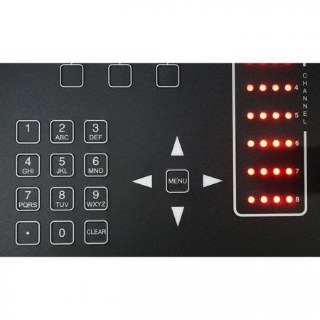 彈片式薄膜按鍵結合LED燈 - 按壓觸感加強式薄膜按鍵。