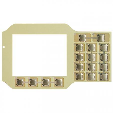 彈片式薄膜按鍵 - 彈片式薄膜按鍵。