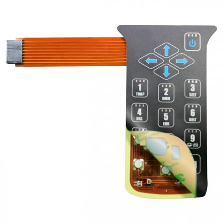 FPC Membrane waterproof frame - FPC assembled with membrane switch.