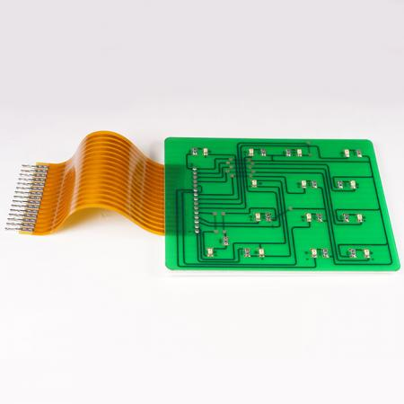 PCB assembled FPC - Printed Circuit Board combine with FPC