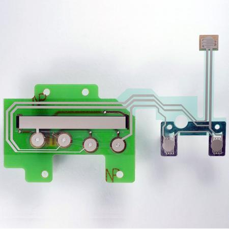 PCBとシルバープリント回路の組み合わせ