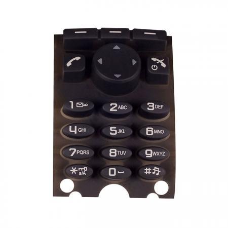 Caucho de silicona móvil - Teclado de goma de silicona para teléfono