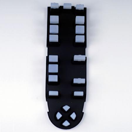Botones de silicona para automóviles